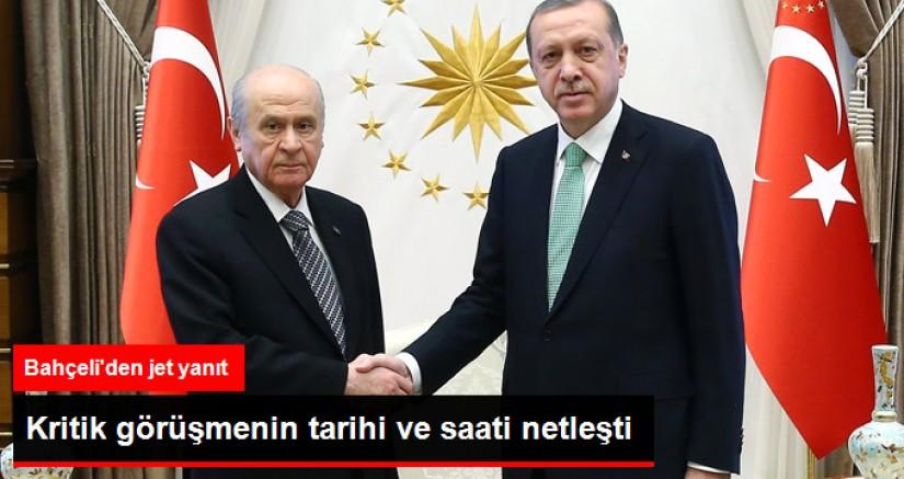 Erdoğan bahçeli görüşmesi